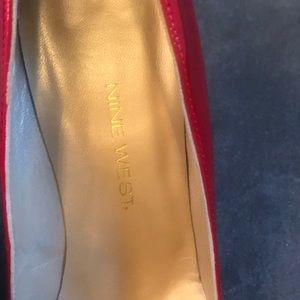 Nine West Shoes - Nine West Patent Leather Heels in Red